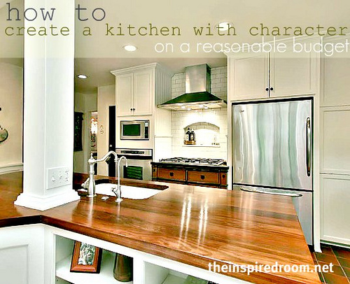 how to remodel a kitchen with character on a budget