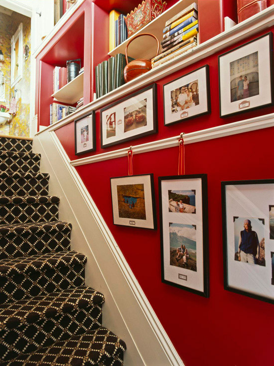 How To Hang Pictures How About A Picture Rail The Inspired Room
