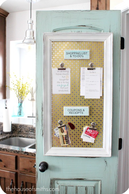 When Good Enough is Good Enough for Now {Command Center for Organization}
