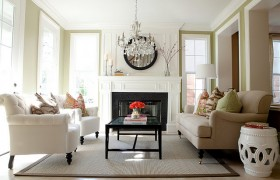 Beautiful Living Room Makeover {BDG style}