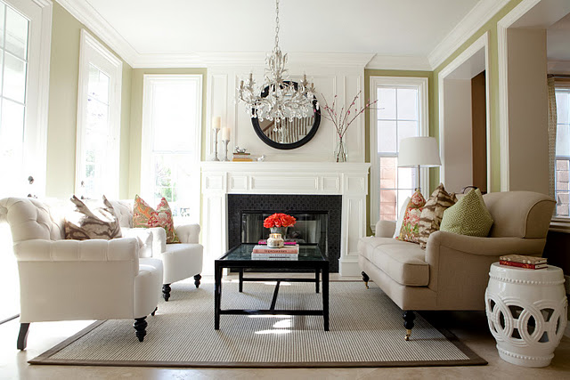 Room decorating before and after makeovers for Gorgeous living rooms