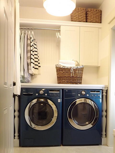 Laundry Room Makeover on a Budget {Mini Manor}