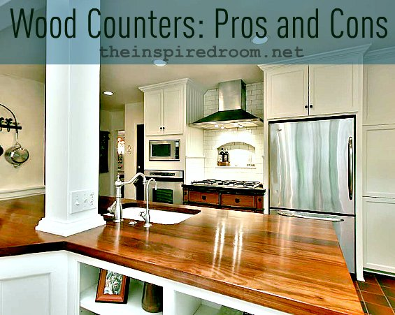 wood counters pros and cons