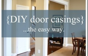 DIY Door Casings