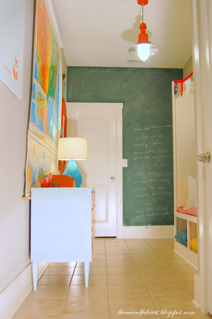 Thrifty Cheery Mudroom Makeover