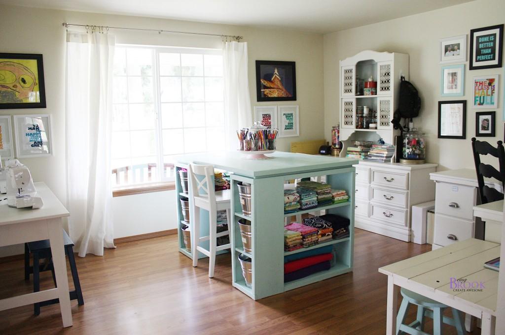 Craft Room {Being Brook}