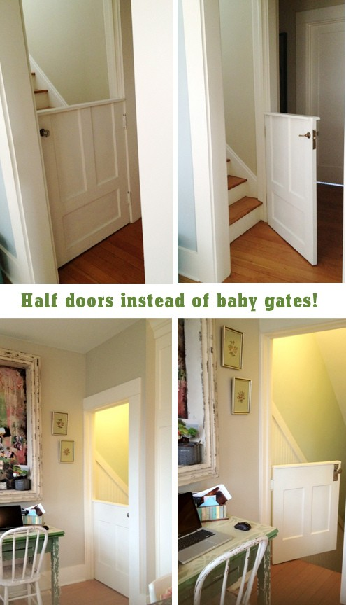 Classy Baby Gate Use Dutch Door Kelly Rae Roberts The Inspired Room