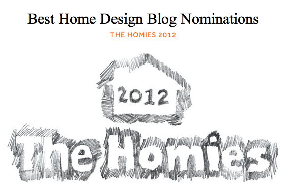 The Homies 2012 {Best Home Design Blog}