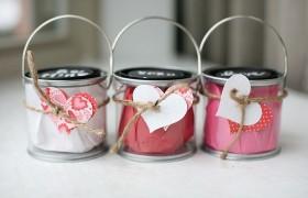 valentine buckets