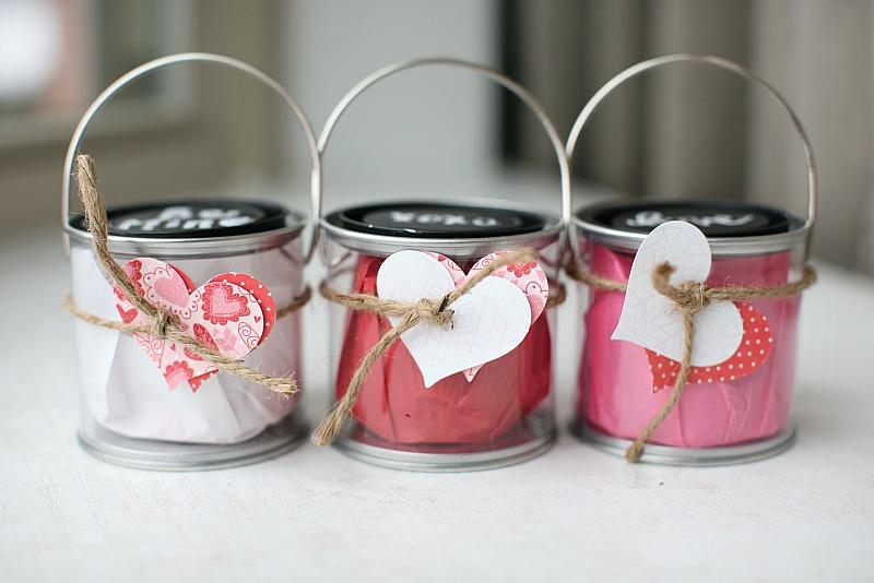 Valentine's Day Idea: Love Buckets {Love & Twenty Toes}