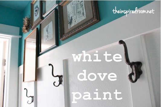 Benjamin Moore Satin Impervo White Dove