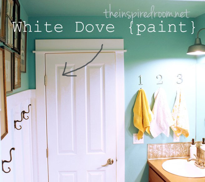 Images Of Rooms Painted Bm White Dove