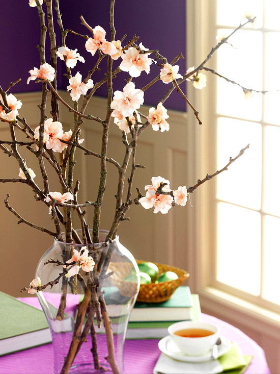 In Between Seasons & Non-Theme Decorating {Evolving to Spring}