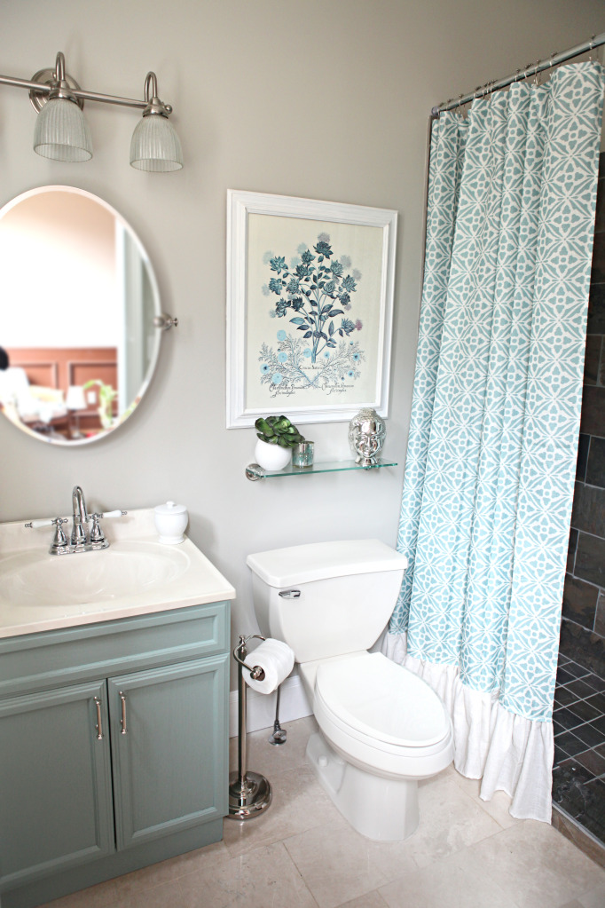 small blue bathroom ideas room decorating before and after makeovers 21858