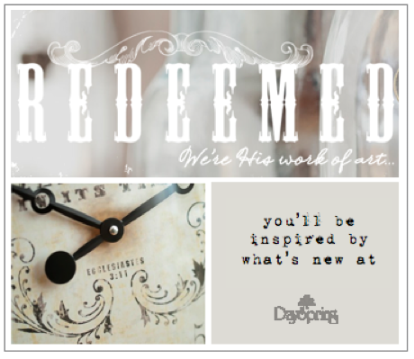 Redeemed {Spring Giveaway!}