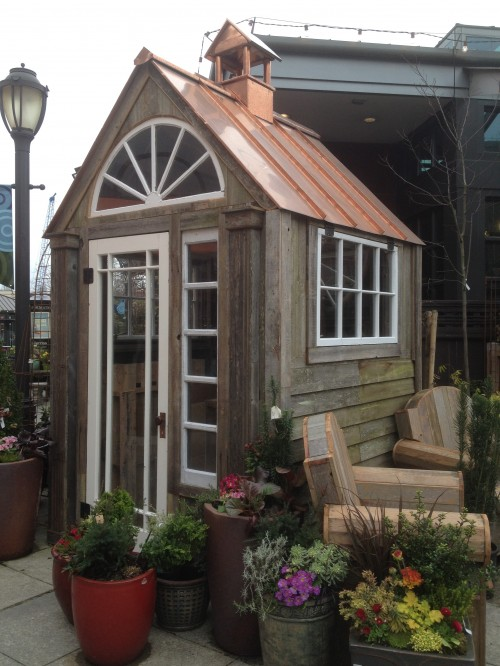 Sweet Garden Shed & Inspiration Collage