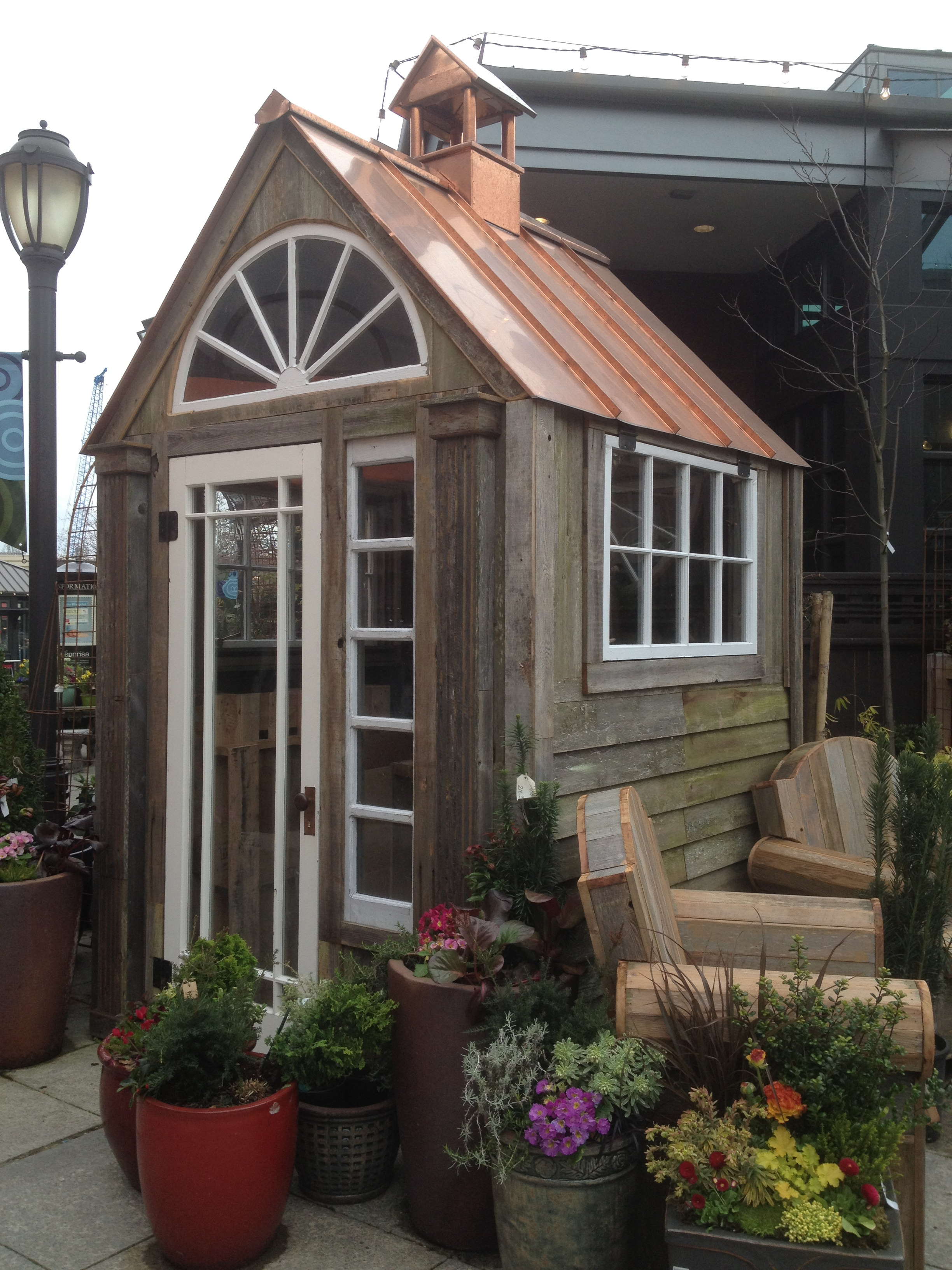 Brick potting shed designs iswandy for Cupola for shed
