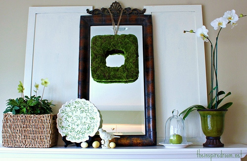 spring-decorating-mantel