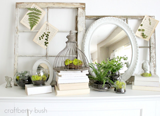 5 Spring Mantel Decorating Tips {Roundup} - The Inspired Room