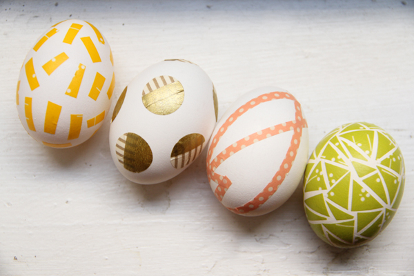 DIY Washi Tape Easter Eggs {Lovely Indeed}