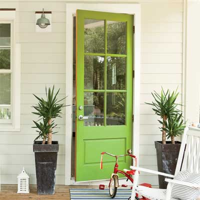 7 Colorful Front Doors & What Color Should I Paint Mine?
