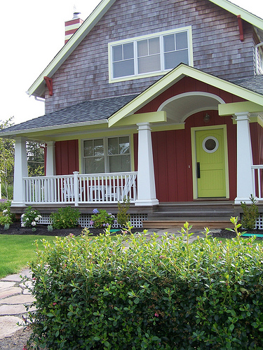 7 Colorful Front Doors & What Color Should I Paint Mine?