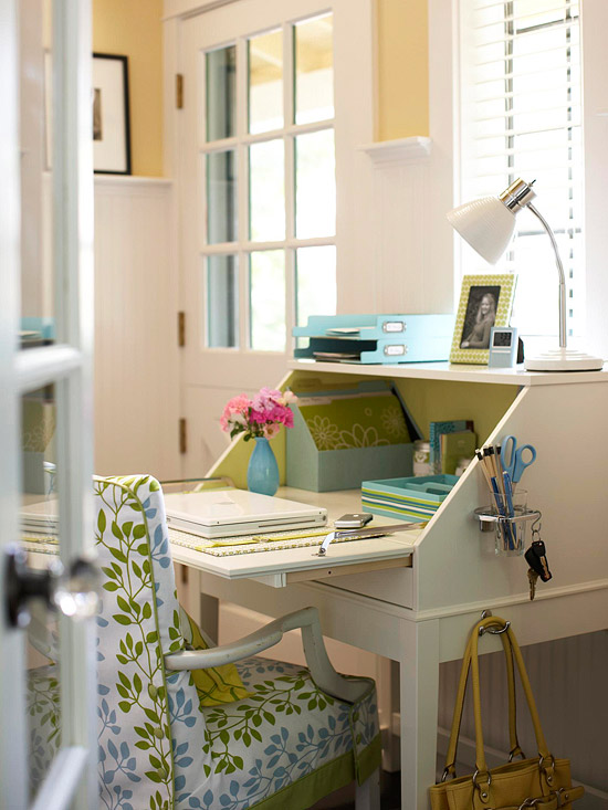 Great home organizing ideas inspiration for creating - Creating a small home office ...