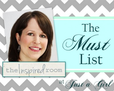 My Must List {for Getting Inspired to Decorate}