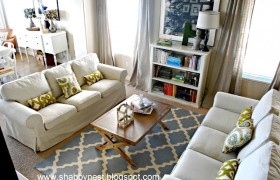 Living Room Update {The Shabby Nest}