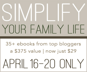 Simplify Your Family Life {Productivity, Entrepreneurs, Blogging, Homemaking and More!}