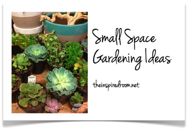 Small spaces gardens home decoration club for Garden space ideas