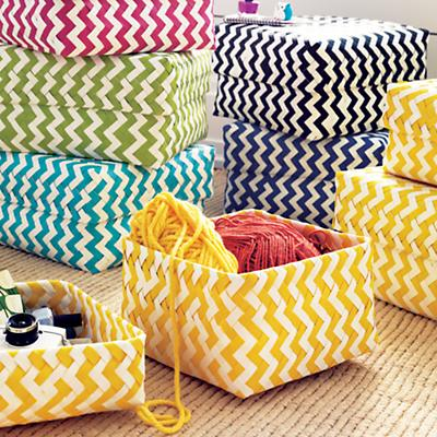 Zig Zags, Chevron, Stripes and Ikat {Tired, Trendy or Timeless}