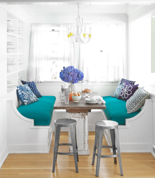 Hello, HAPPY! {4 Cheery Summery Spaces}