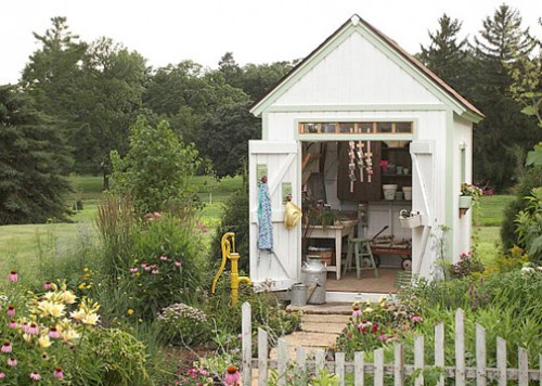 Pictures Of Backyard Garden Sheds : garden shed