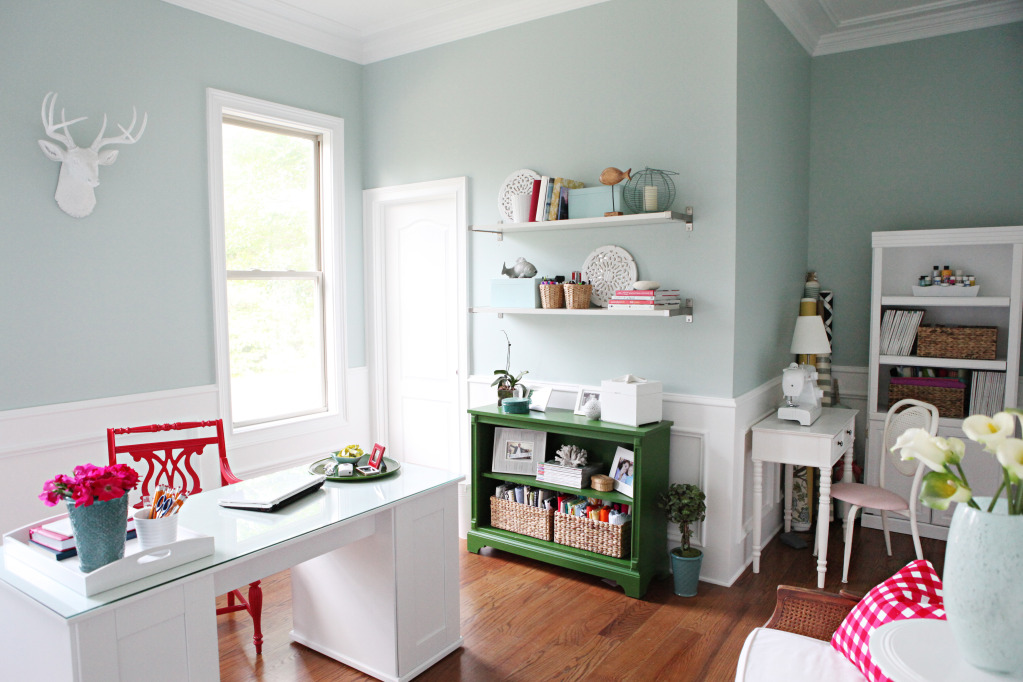 Craft Room Makeovers: The Inspired Room