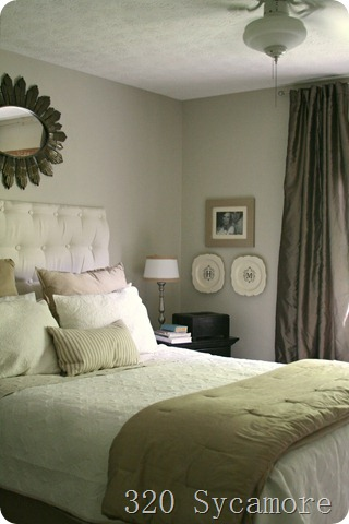 Soothing Neutral Master Bedroom Makeover {320 Sycamore}