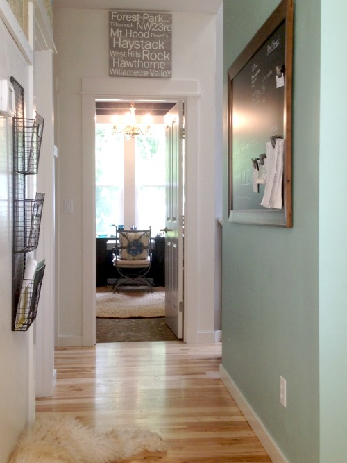 Making the Best Use of My Space {Plus a New Project: Goodbye Living Room, Hello Practical Space}