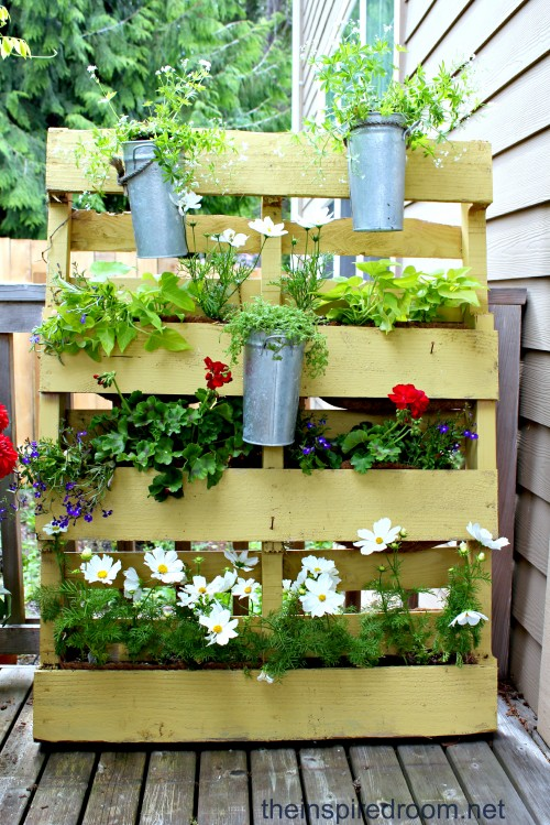 The Pallet Garden {re-mix 2012}