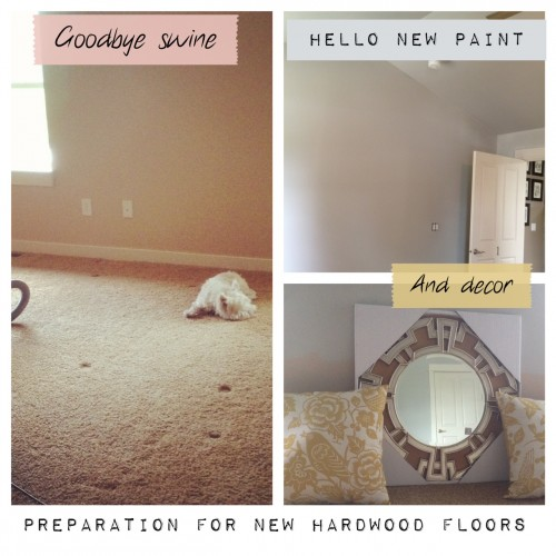 {Redecorating & Reorganizing} And so it goes...
