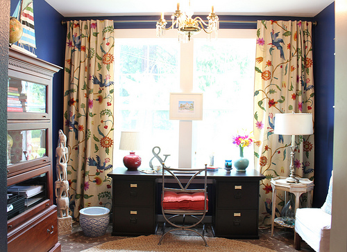 Surprising Home Office Curtains Home Curtains Saveemail Office Pleasant Largest Home Design Picture Inspirations Pitcheantrous