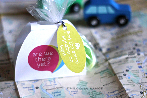 Road Trip Travel Packs for Kids {Design Mom}