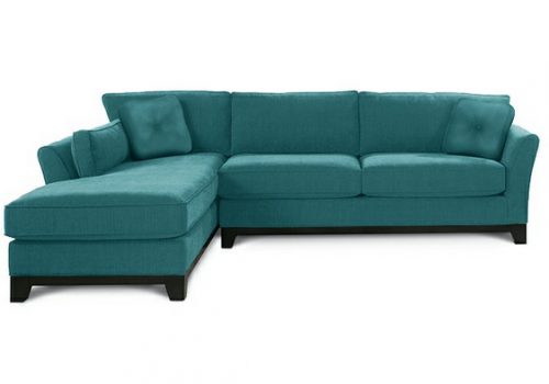 A New Sectional! {& Practical Questions to Ask When Buying a New Sofa}
