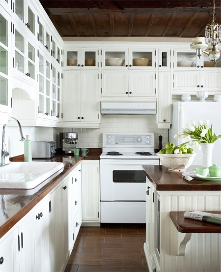 White Appliances {yes, you can}