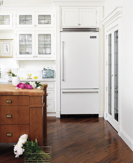 white appliances - Kitchen Remodel With White Appliances