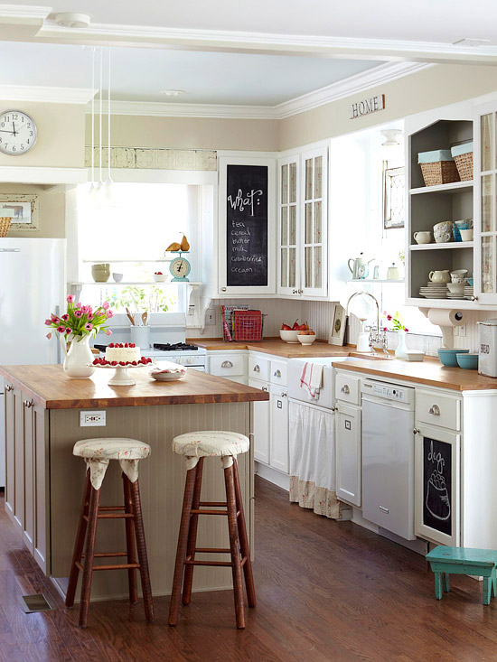 white kitchen appliances