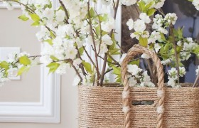 DIY Beach Comber Basket