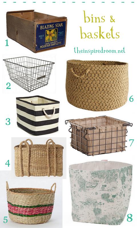 Baskets Crates Amp Bins For Organization