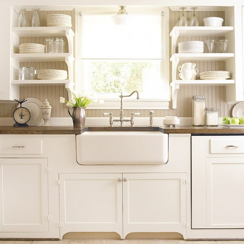 White Kitchen Farm Sink choosing a kitchen sink and faucet