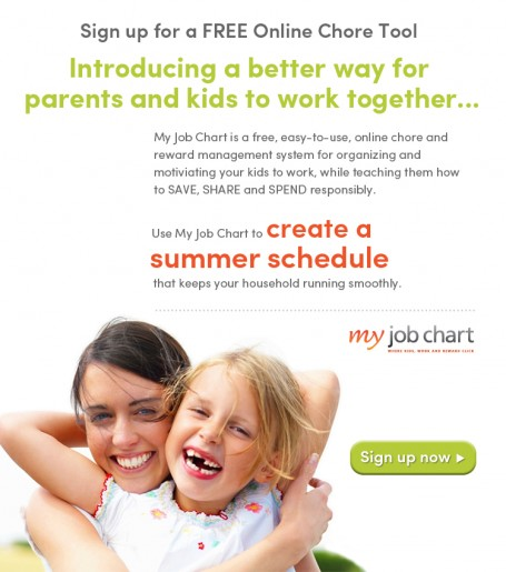 My Job Chart {Growing Responsible Kids}