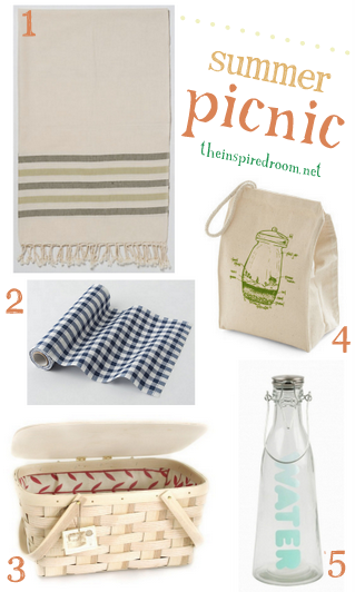 where to find cute summer picnic items